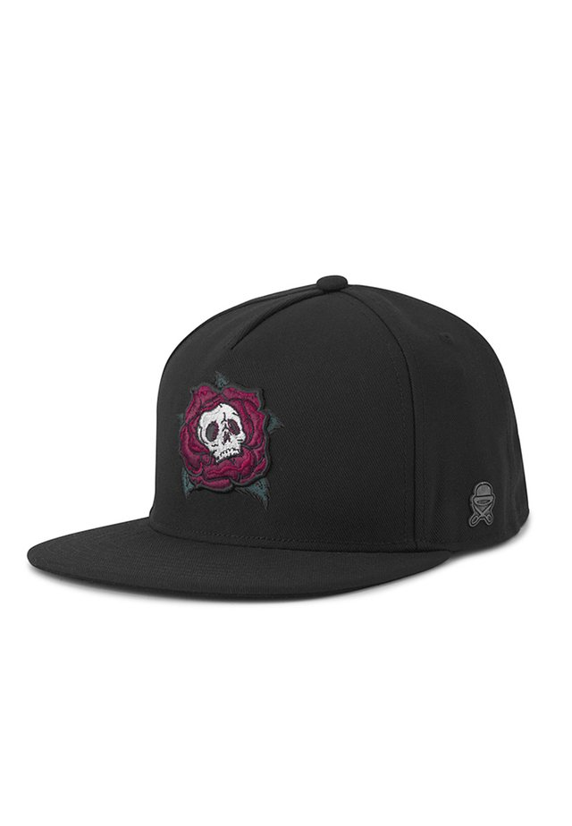 CAYLER & SONS ACCESSOIRES C&S CL DEATH ROSE CAP - Cap - heather grey/mc