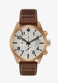 Citizen - Zegarek chronograficzny - brown/gold-coloured - 1