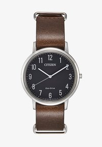 Citizen - Uhr - dark brown/silver-coloured - 1