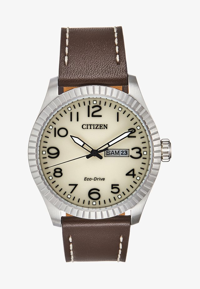 Watch - brown/silver-coloured