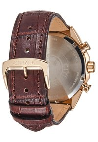 Citizen - Zegarek chronograficzny - brown/gold-coloured - 2
