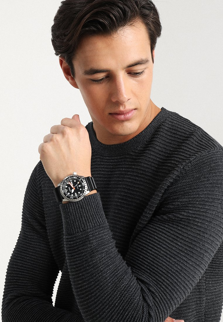 Citizen - Hodinky - black/silver-coloured