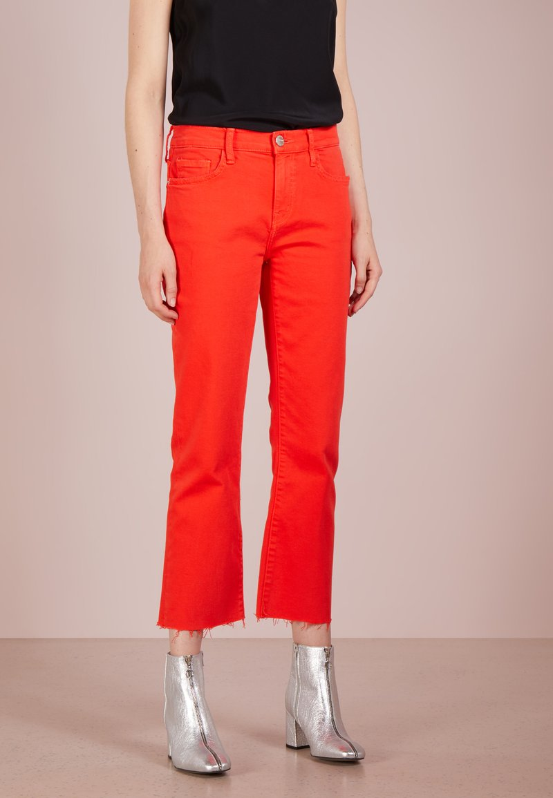 Current/Elliott - THE KICK JEAN - Jeans Slim Fit - fire red