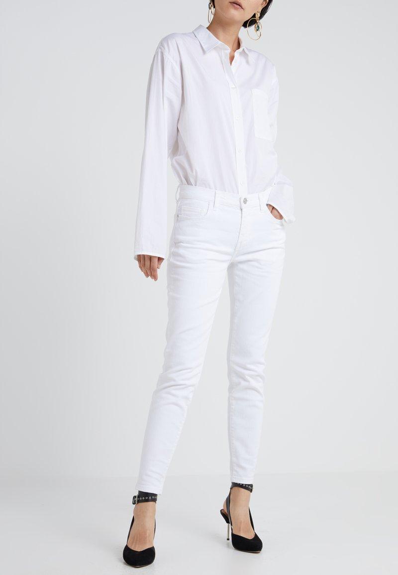 Current/Elliott - THE STILETTO - Jeans Skinny Fit - white denim