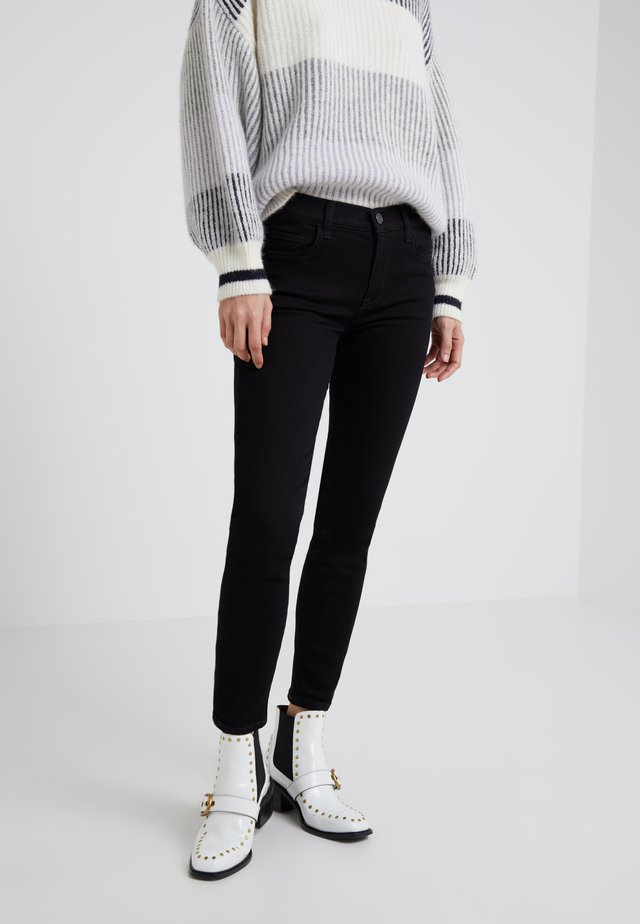 THE STILETTO - Jeans Skinny Fit -  clean stretch black