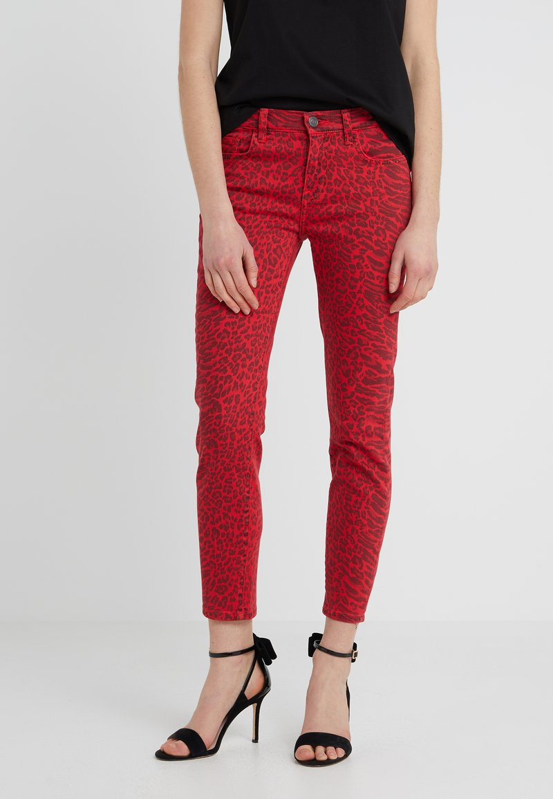 Current/Elliott - THE STILETTO - Jeans Skinny Fit - red warped species