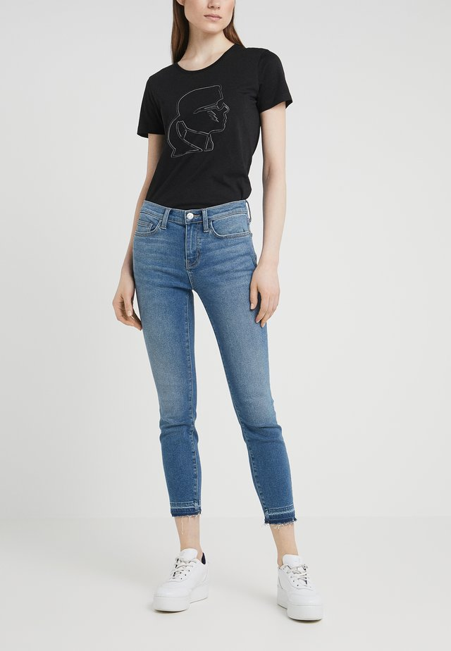 THE STILETTO - Jeans Skinny Fit - lakewater