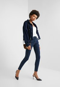 Current/Elliott - THE 7-POCKET STILETTO - Jeans Skinny - demir - 1