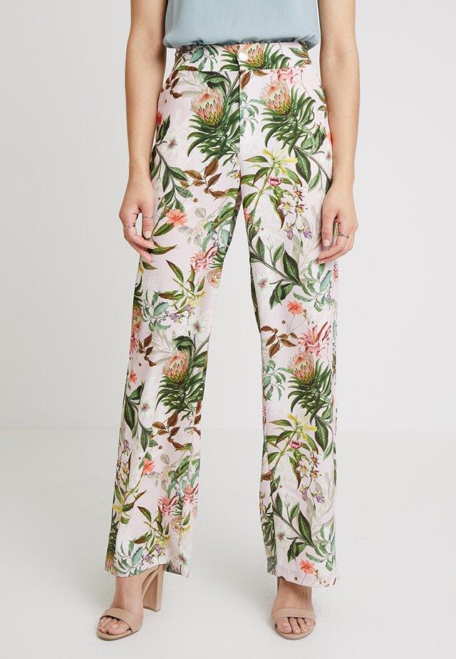 SIDRALE PANTS - Trousers - tan