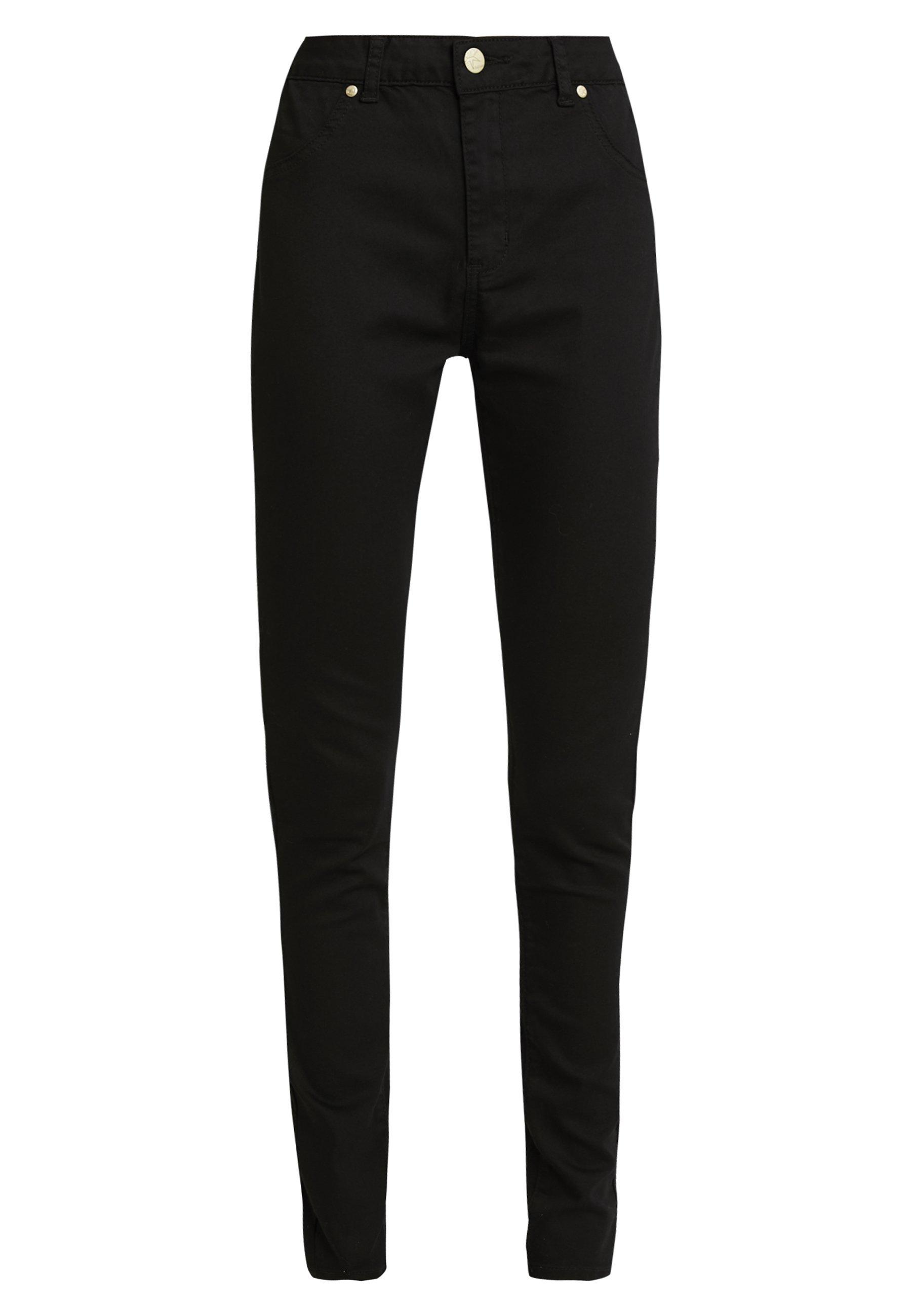 Culture CUASTA PANTS - Spodnie materiałowe - black