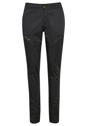 LONG MALOU FIT - Pantalon classique - black