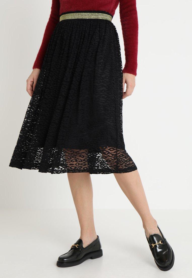 Culture - SHANNA SKIRT - A-snit nederdel/ A-formede nederdele - black