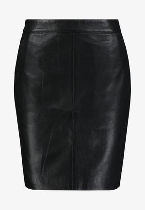 JEANEL SKIRT - Pencil skirt - black
