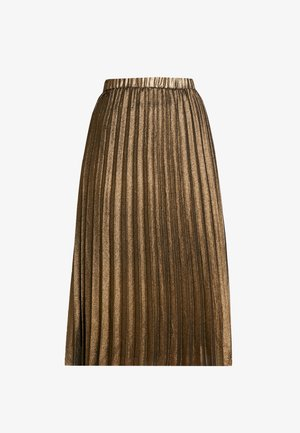 JUSTA SKIRT - Jupe plissée - frosted almond
