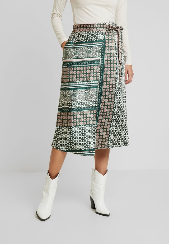 FADIA SKIRT - A-Linien-Rock - pine grove