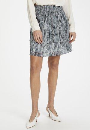 CUMOON - A-line skirt - blue