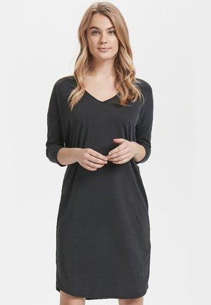 KAJSA - Žerzejové šaty - black washed