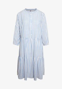 Culture - NOOR STRIPE DRESS - Blusenkleid - mazarine blue - 5