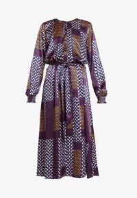 Culture - DRESS - Day dress - cabernet