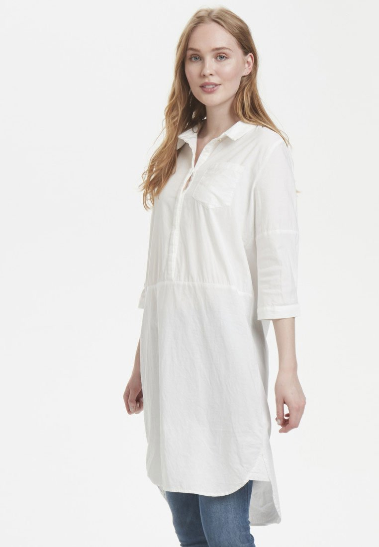 White Chemise Solid Culture CusarsaRobe IfyvbY76g