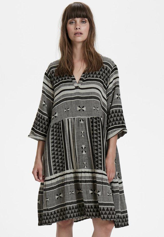 CUASALI  - Korte jurk - black