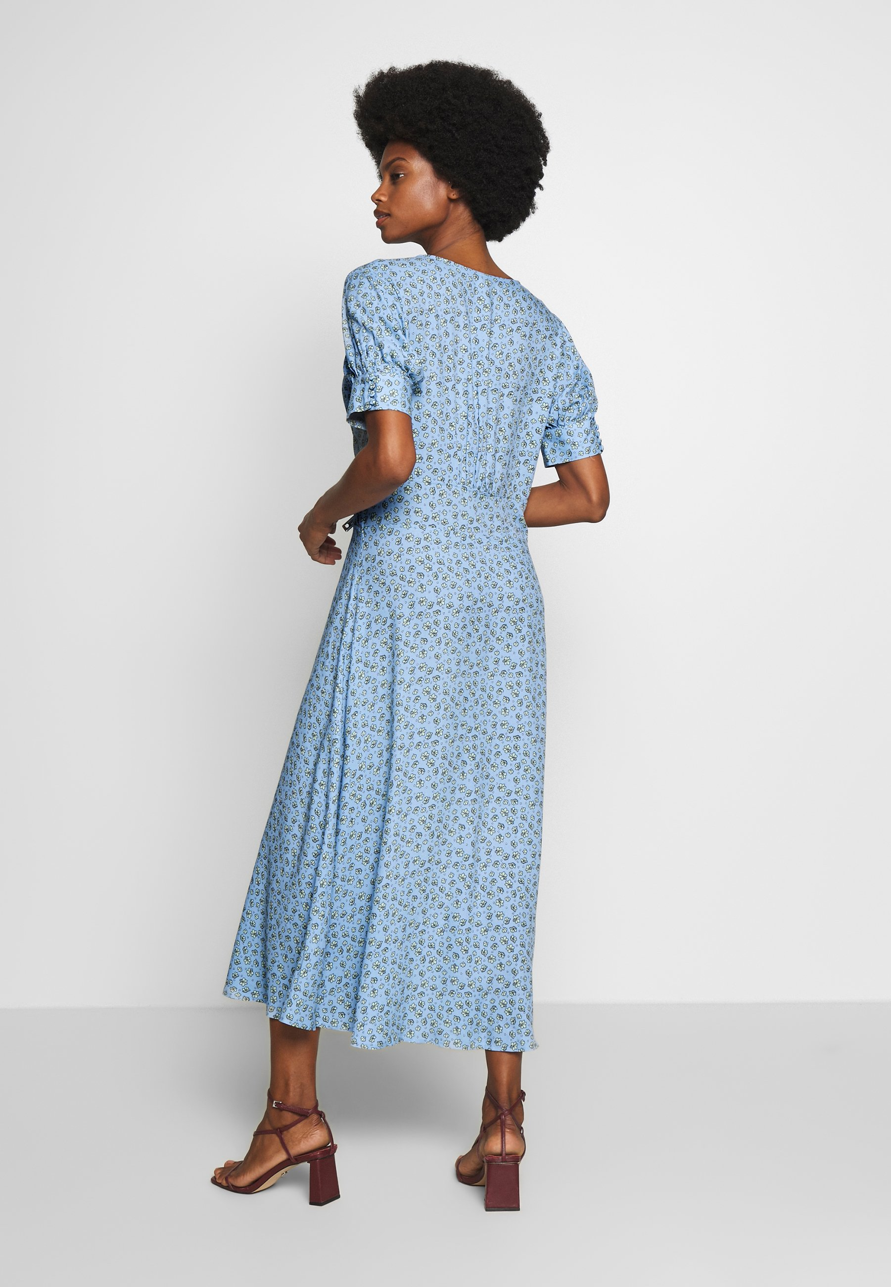 Culture Cuyasmin Dress - Shirt Powder Blue UK