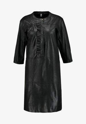 ALINA DRESS - Denní šaty - black