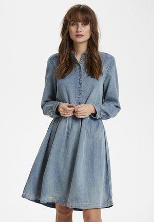 CUPAOLA  - Sukienka jeansowa - light blue