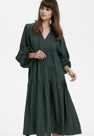 Korte jurk - dark green