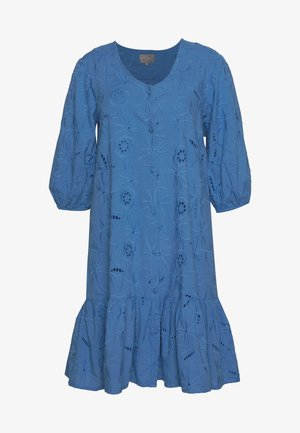 CUSAGA ANGLAISE DRESS - Korte jurk - marina