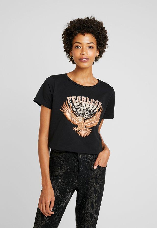 CUGABRIELLA - T-shirts med print - black