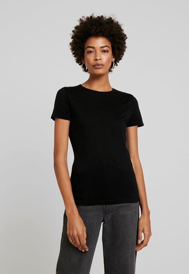 CUNANCIE - Basic T-shirt - black