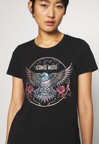 Culture - CUBELLA - T-shirt print - black - 4