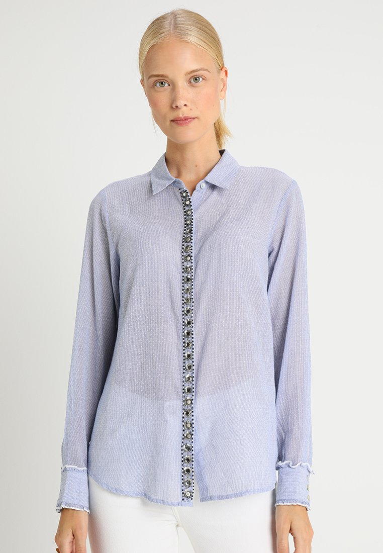Culture - HALIFA - Camisa - airy blue