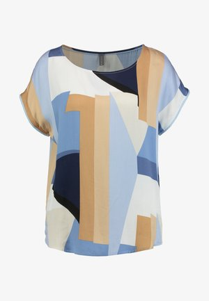 RIGMOR CAPSLEEVE - Blouse - cashmere blue