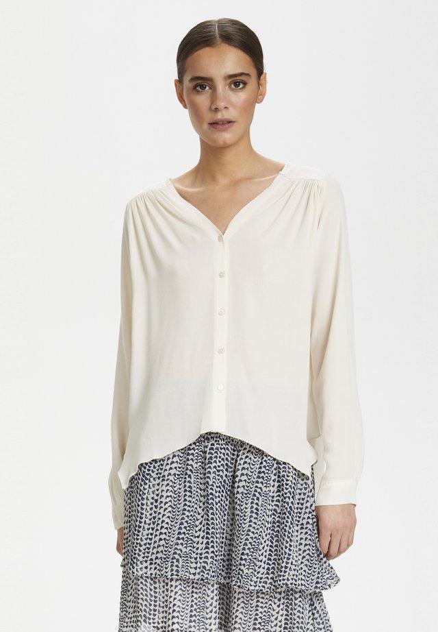 CUBETINA - Button-down blouse - white