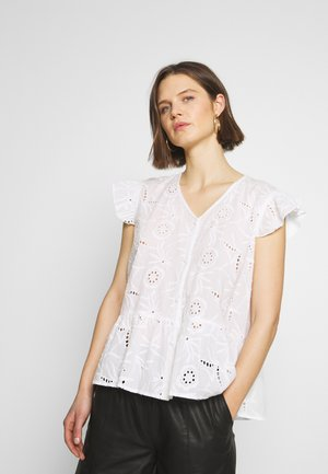 CUSAGA ANGLAISE TOP - Blouse - white