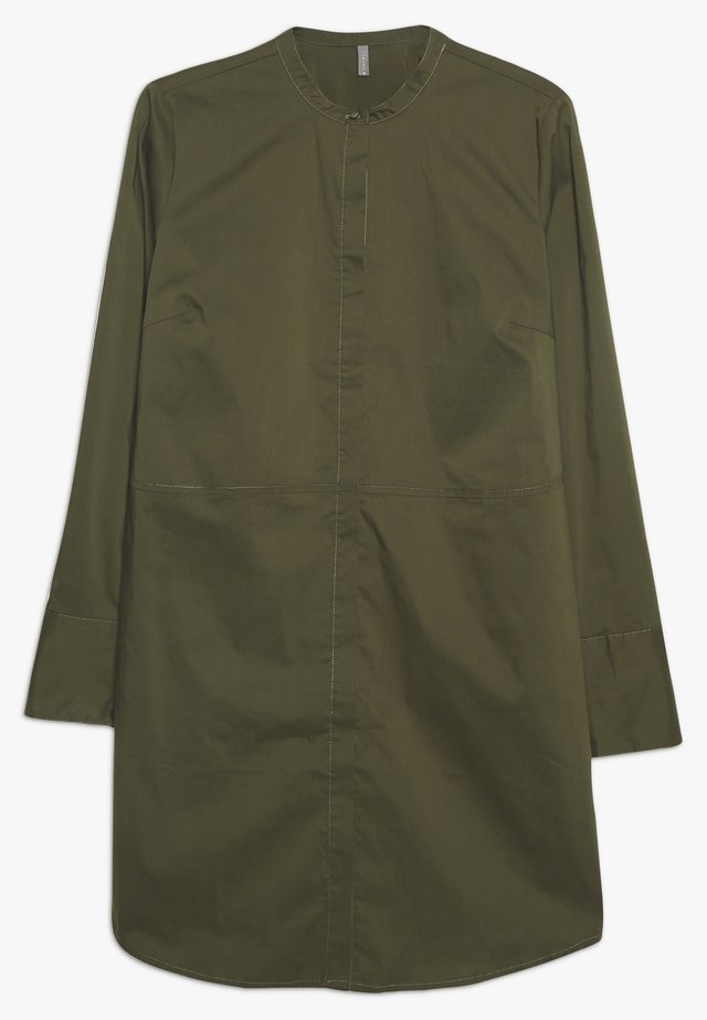 CUANTONIETT LONG  - Button-down blouse - burnt olive