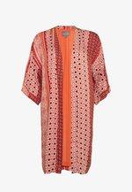 ZALAN KIMONO - Summer jacket - mecca orange