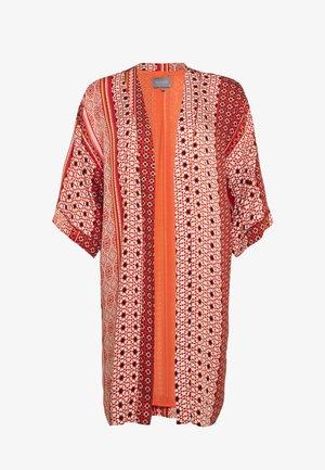 ZALAN KIMONO - Lehká bunda - mecca orange