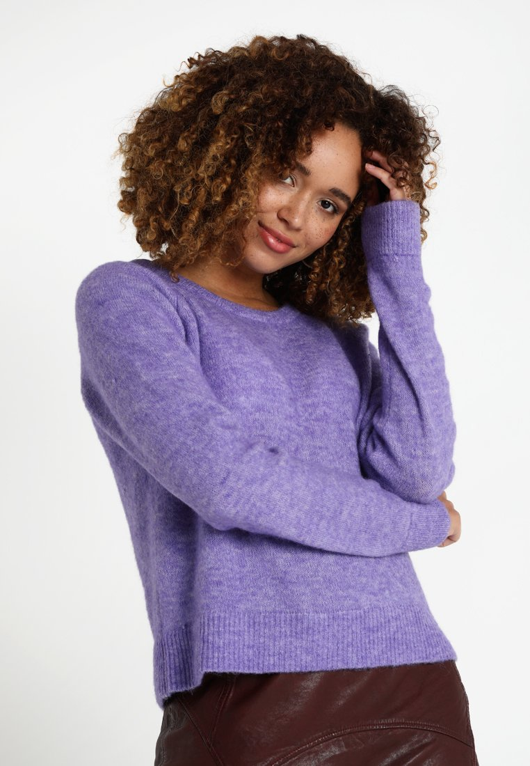 Culture - CAMELIA JUMPER - Strickpullover - dahlia purple