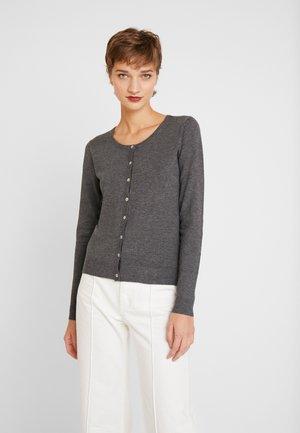 ANNEMARIE CARDIGAN - Vest - dark grey melange
