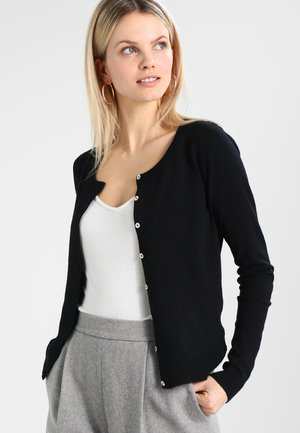 ANNEMARIE CARDIGAN - Vest - black