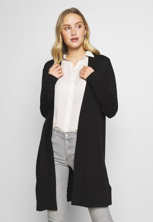 CUVIBSEN LONG CARDIGAN - Cardigan - black