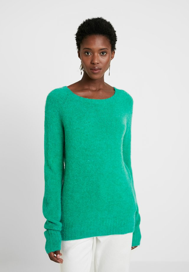 Sweter - ming green