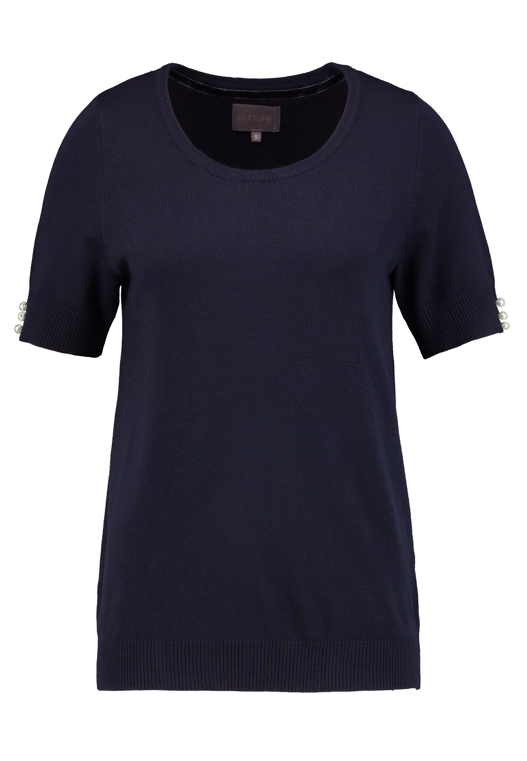 Culture CUANNEMARIE - T-shirt z nadrukiem - salute melange