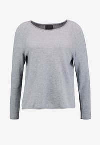 Culture - ALAIA - Sweter - light grey melange - 4