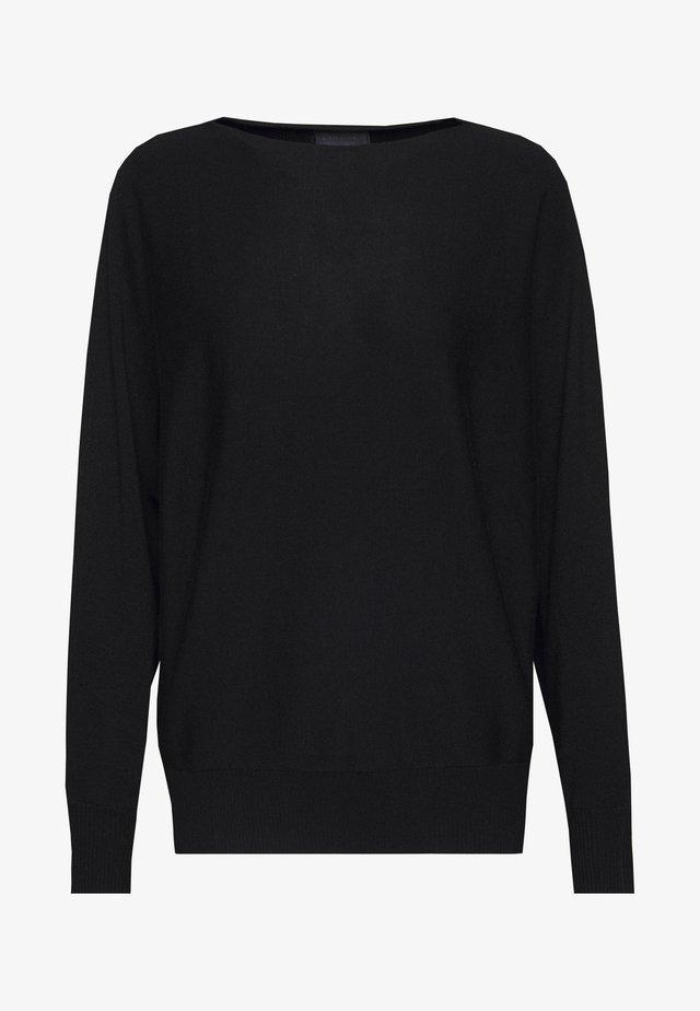 ANNEMARIE BATWING JUMPER - Jersey de punto - black
