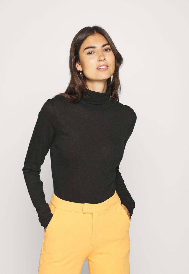 KERI ROLLNECK - Jersey de punto - black