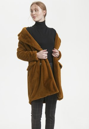 Mantel - leather brown